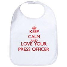 Keep Calm and love your Press Officer Bib
