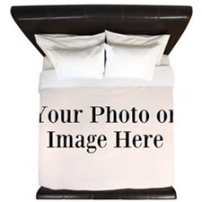 Your Image Here King Duvet