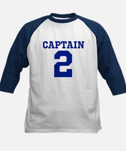 CAPTAIN #2 Kids Baseball Jersey
