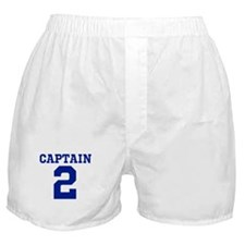 CAPTAIN #2 Boxer Shorts