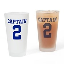 CAPTAIN #2 Drinking Glass