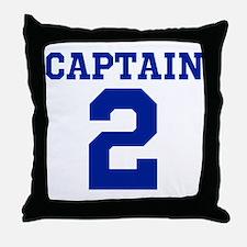 CAPTAIN #2 Throw Pillow