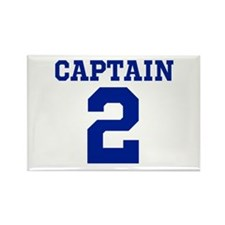 CAPTAIN #2 Rectangle Magnet