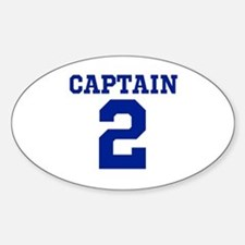 CAPTAIN #2 Decal