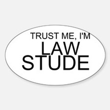 Trust Me, I'm A Law Student Decal