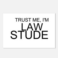 Trust Me, I'm A Law Student Postcards (Package of