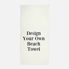 Your Image Here Beach Towel