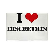 I Love Discretion Magnets
