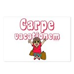 Carpe Vacationem f Postcards (Package of 8)