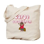 Carpe Vacationem f Tote Bag