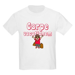Carpe Vacationem f T-Shirt