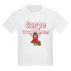 Carpe Vacationem f T-Shirt