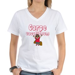 Carpe Vacationem f Shirt