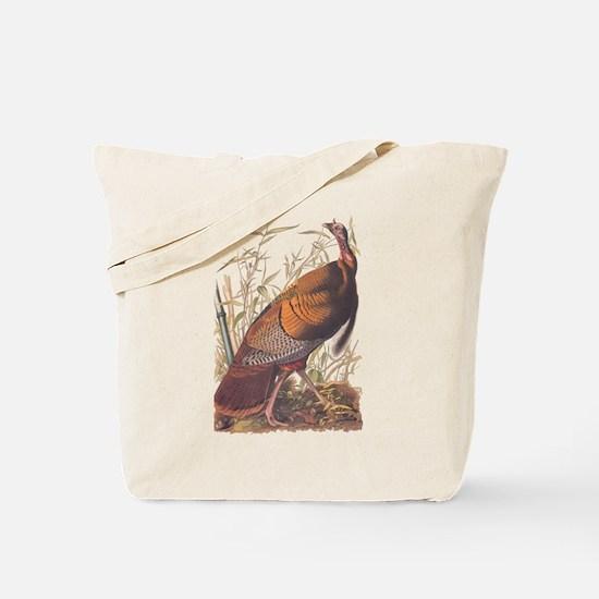 Audubon Wild Turkey Tote Bag