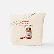 i love bpwling Tote Bag