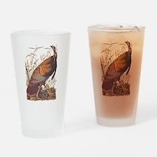 Audubon Wild Turkey Drinking Glass