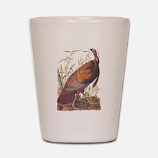 Audubon Wild Turkey Shot Glass