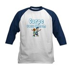 Carpe Vacationem c Kids Baseball Jersey