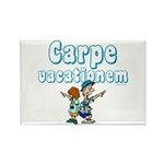 Carpe Vacationem c Rectangle Magnet (10 pack)