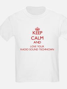 Keep Calm and love your Radio Sound Techni T-Shirt