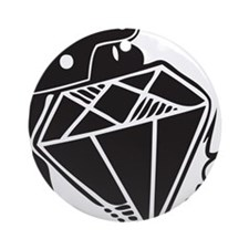 Diamond grenade Ornament (Round)