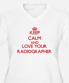 Keep Calm and love your Radiogra Plus Size T-Shirt