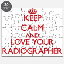 Keep Calm and love your Radiographer Puzzle