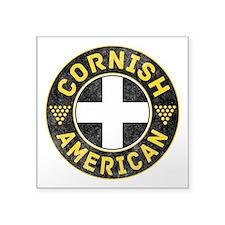 Cornish American Flag Ensign Sticker
