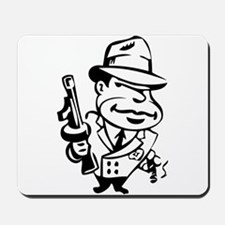 Mobster toon Mousepad