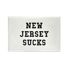 New Jersey Sucks Rectangle Magnet