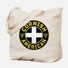 Cornish American Flag Ensign Tote Bag