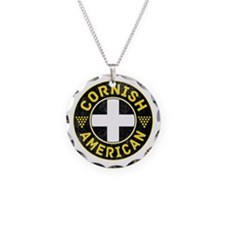 Cornish American Flag Ensign Necklace