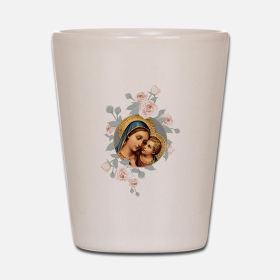 Our Lady of Good Remedy Shot Glass