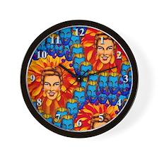 """Garden of Eden"" Wall Clock"