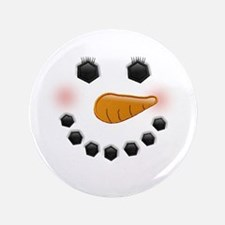 """Snow Woman 3.5"""" Button (100 pack)"""