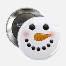 "Snow Woman 2.25"" Button (10 pack)"