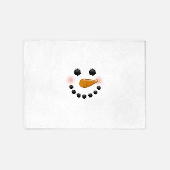 Snow Woman 5'x7'Area Rug