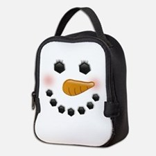 Snow Woman Neoprene Lunch Bag
