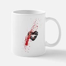 Lipstick grunge Mugs