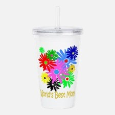 Worlds Best Mom Acrylic Double-wall Tumbler