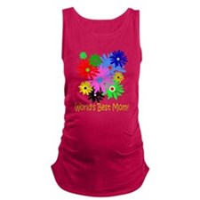 Worlds Best Mom Maternity Tank Top