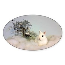 Hotot in Snow Decal