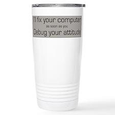 Cute Tech support Travel Mug