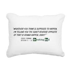 Jesse Pinkman quote 2 Rectangular Canvas Pillow