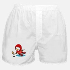 Ice Hockey Penguin (R) Boxer Shorts