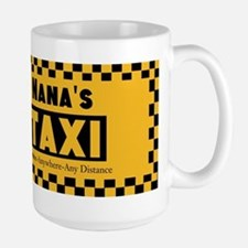 Nanas Going The Distance Taxi Mugs