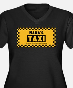 Nanas Going The Distance Taxi Plus Size T-Shirt