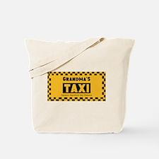 Grandma Taxi Tote Bag