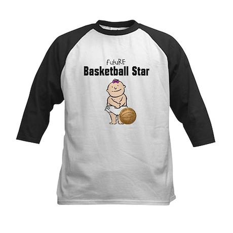 Baby Girl Basketball Star Kids Baseball Jersey