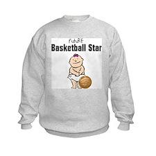 Baby Girl Basketball Star Sweatshirt
